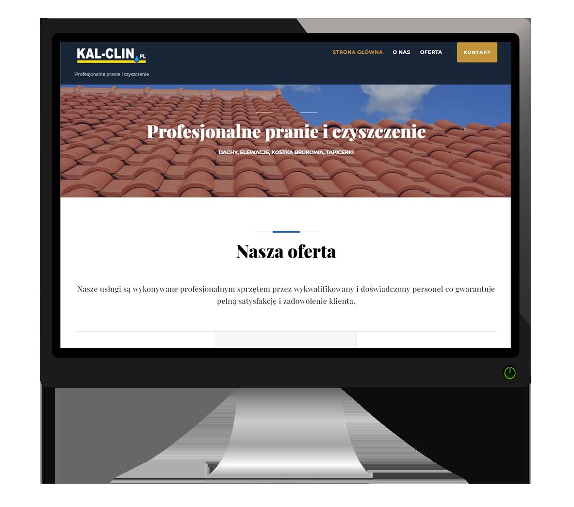 strona internetowa kal-klin