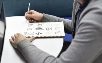 logotypy, wizytówki, ulotki, katalogi, banery reklamowe, druki firmowe, itp.