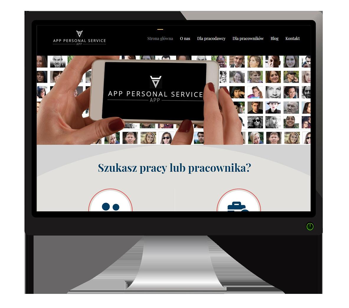 strona internetowa personal-service