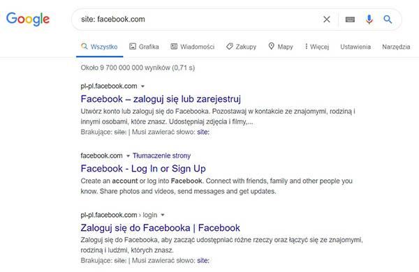 Jak sprawdzić czy wyszukiwarka Google widzi (indeksuje) moją stronę internetową